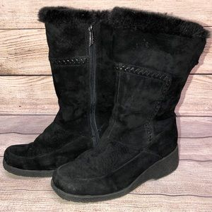 Khombu Leather Winter Boots